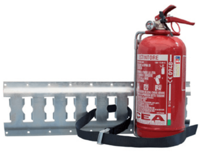 Support for Fire extinguisher