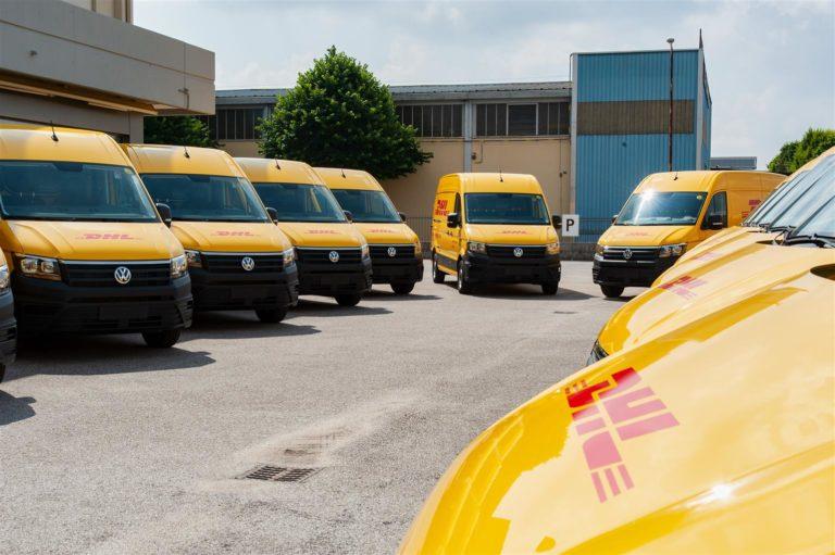 La nuova flotta di DHL