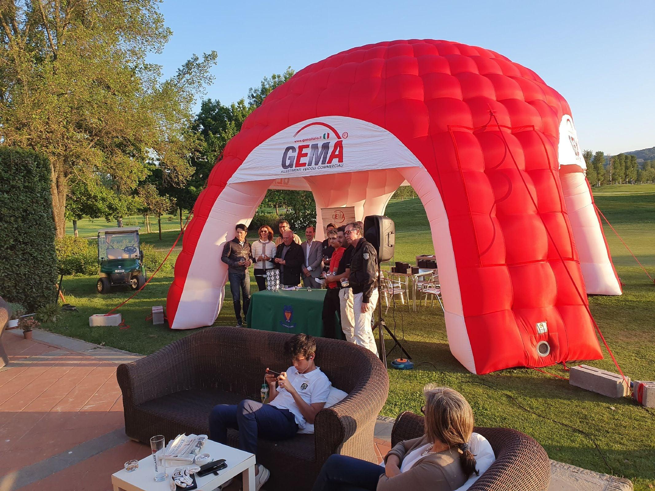 2° trofeo 2019 GEMA golf club le Pavoniere